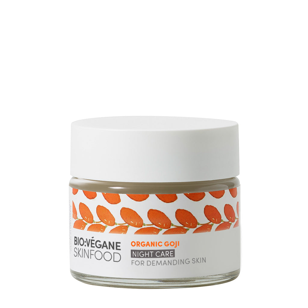 Organic Goji Night Cream - First signs of ageing