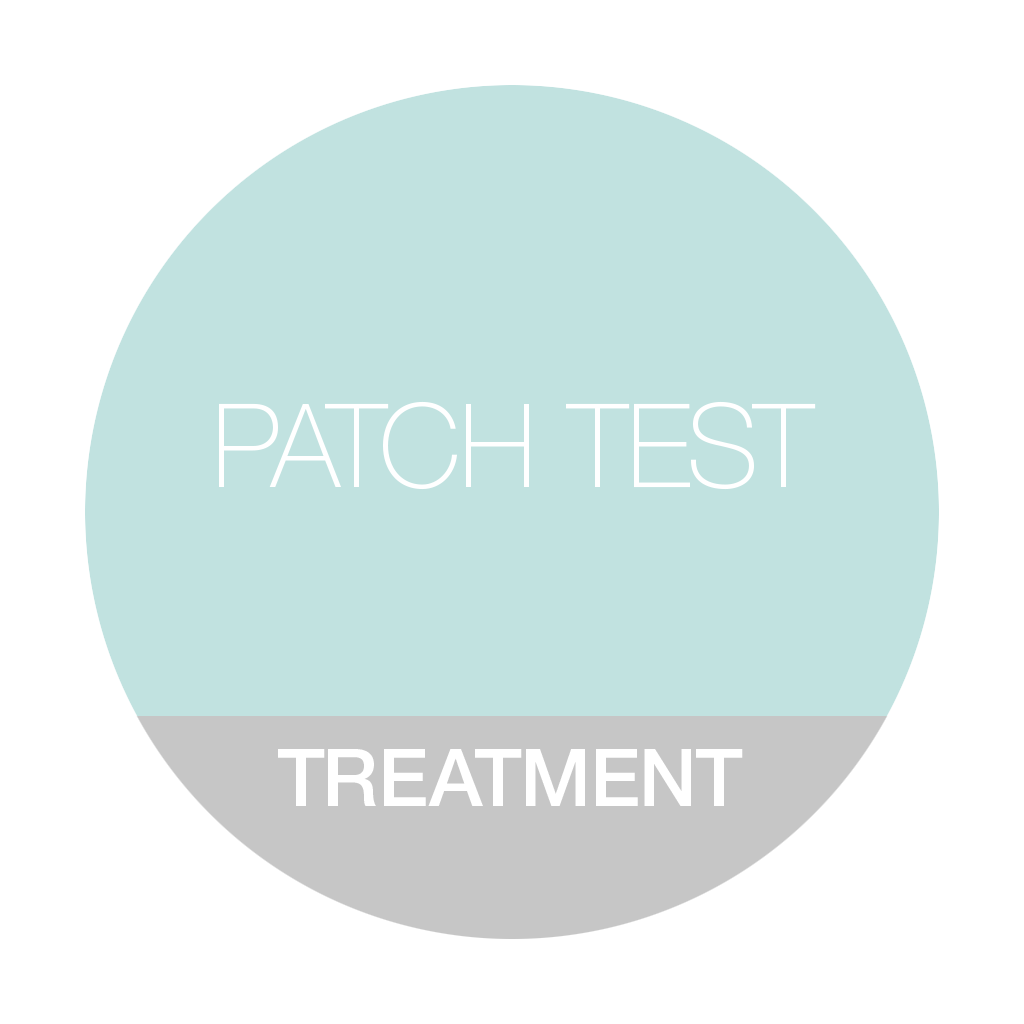 PATCH TEST FOR PEELS - 10 MINS