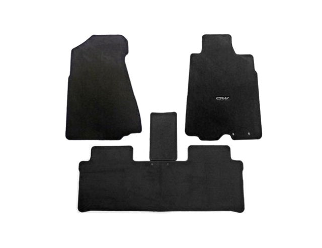 Honda CR-V Floor Carpets, Elegance - Manual Transmission RHD 2003-2006