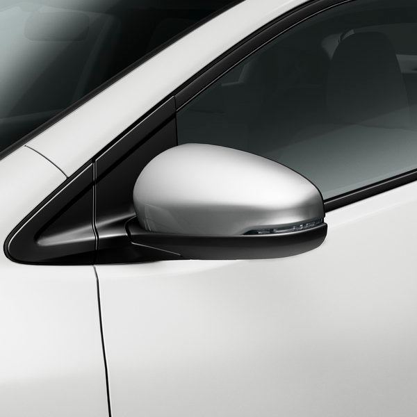 Honda Civic 5DR/Tourer Door Mirror Covers, Matte Metallic Silver