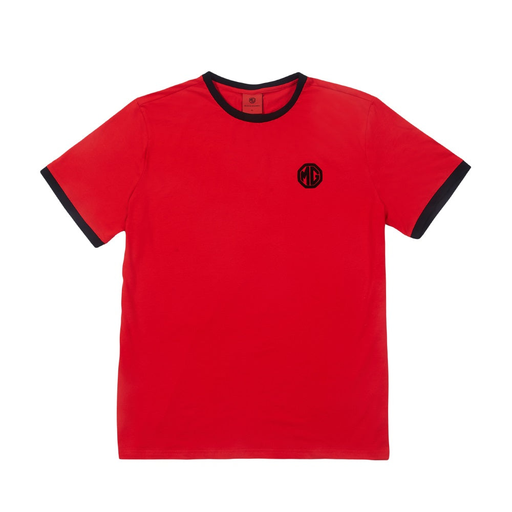 MG T-Shirt, Red with Logo