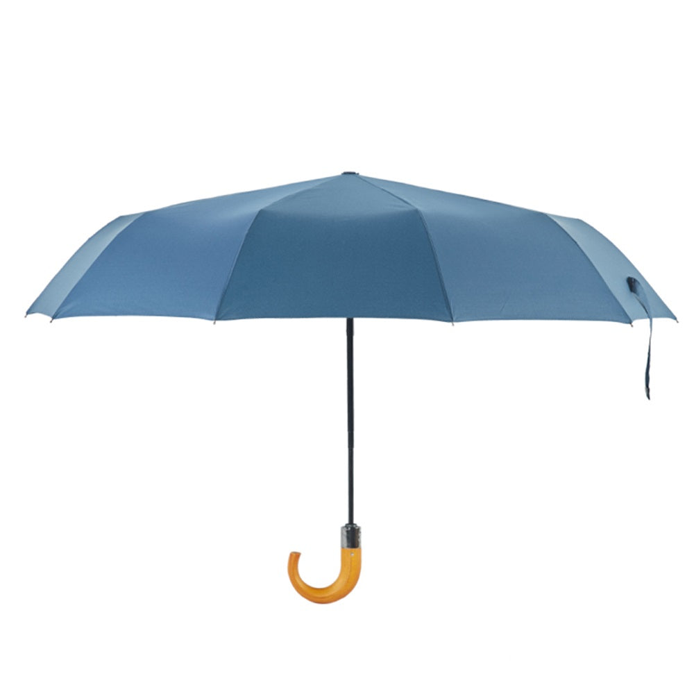 MG Short Handled Umbrella, Smokey Blue