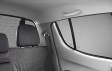 Mitsubishi L200 (S4) Double Cab Privacy Shades