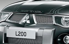 Mitsubishi L200 (S4) Double Cab Sports Grille, Upper