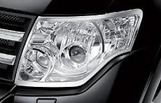 Mitsubishi Shogun Headlamp Bezels, Chrome