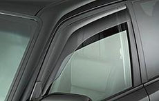 Mitsubishi Shogun LWB Side Window Deflectors, Front