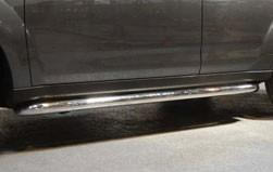 Mitsubishi Outlander Side Bars, Stainless Steel