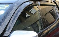 Mitsubishi L200 DC (S4) Window Deflectors, Front & Rear 2007-2017