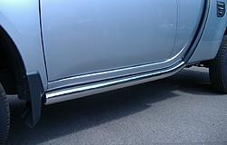 Mitsubishi L200 CC (S4) Club Cab Side Bars, Stainless Steel 2007-2017