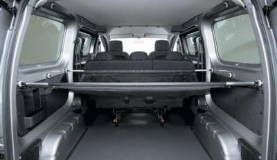 Nissan NV200 System Bars for multi partition net