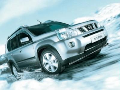Nissan X-Trail (T31) Wind Deflectors