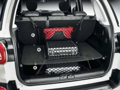 Fiat 500L/500X Suspended Bag Type Cargo Bay Net