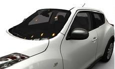 Nissan Juke (F15E) Mirror Covers, Dark Grey 2010-2014