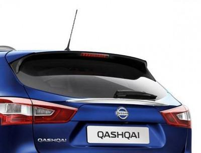 Nissan Qashqai (J11E/B) Rear Glass Finisher, Chrome