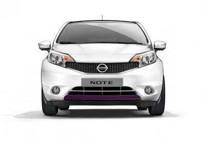 Nissan Note (E12E) Black Purple Front Lip Finisher