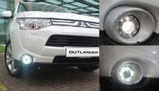 Mitsubishi Outlander LED Foglamp with LED Daytime Running Lights
