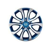 "Nissan Juke (F15E) Blue Alloy Wheel, Diamond Cut 17"" inc. Centre Cap"