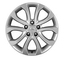 "Nissan Juke (F15E) Alloy Wheel 17"" Silver inc. Centre Cap"