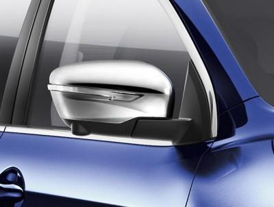 Nissan Qashqai/X-Trail Chrome Mirror Caps