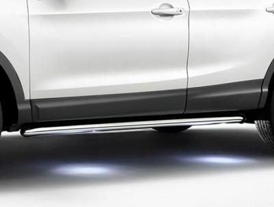 Nissan Qashqai (J11E/B) Side Styling Bars, Illuminated