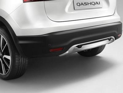 Nissan Qashqai (J11E) Styling Plate, Rear - cars with OE RPS 2014-2017
