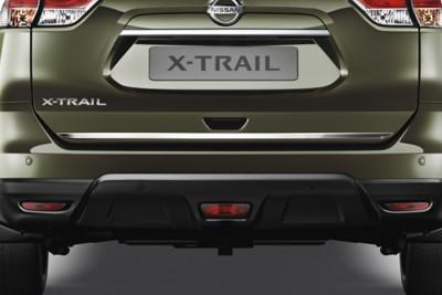 Nissan X-Trail (T32/C) Trunk Lower Finisher, Chrome