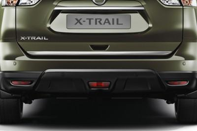 Nissan X-Trail (T32) Trunk Lower Finisher, Ice Chrome