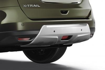Nissan X-Trail (T32) Rear Styling Plate - with rear parking sensors