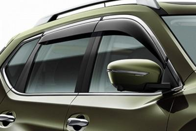 Nissan X-Trail (T32/C) Wind Deflectors, Front & Rear