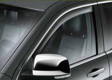 Jeep Grand Cherokee (WK2) Front Window Deflectors, Tinted