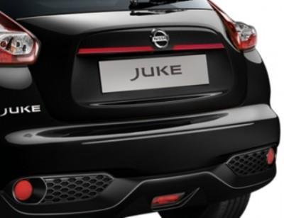 Nissan Juke (F15E) Trunk Handle Finishers, Red 2010-2018