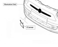 Fiat 500 Front Bumper Towing Eye Cover