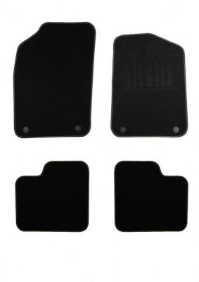 Fiat 500 Entry Level Carpet Mats 2-PIN Fixing RHD MT 09/2012-2015
