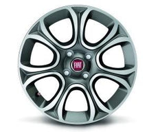 "Fiat Punto 16"" Alloy Wheels Set, 7-Spoke"
