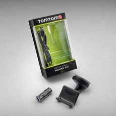 Fiat TomTom Suction Kit inc 12v AC Plug