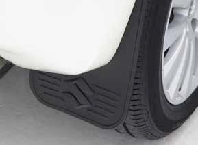 Suzuki Grand Vitara (5DR) Rear Mudflaps, Flexible