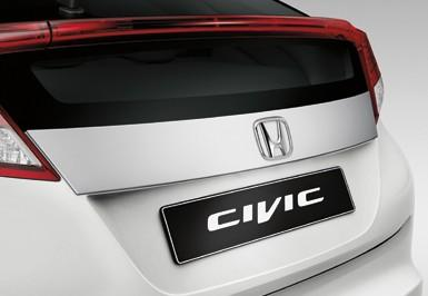 Honda Civic 5DR Tailgate Decoration 2012-2013