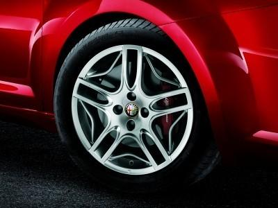 "Alfa Romeo MiTo Alloy Wheels Kit 16"" Twin 5-Spoke Design"