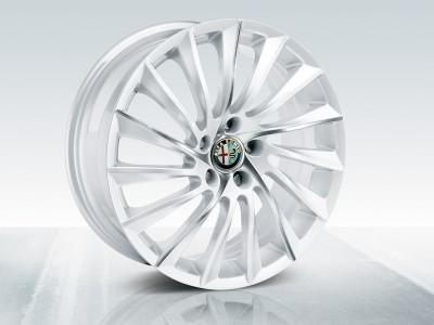 "Alfa Romeo Giulietta Alloy Wheels 18"" Matt White 2010-"