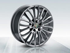 "Alfa Romeo Giulietta Alloy Wheels 18"" Silver Chrome"
