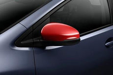 Honda Civic Door Mirror Covers, Rally Red