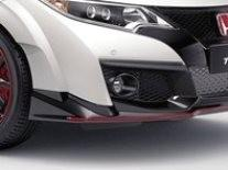 Honda Civic Type-R Carbon Fibre Fog Opening Decoration 2015-2016