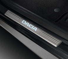 Dacia Door Sill Illuminated Entry Guards