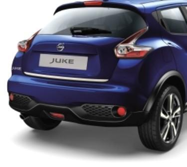 Nissan Juke White Rear Trunk Lower Finisher