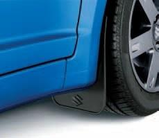 Suzuki Swift Flexible Mudflaps, Front