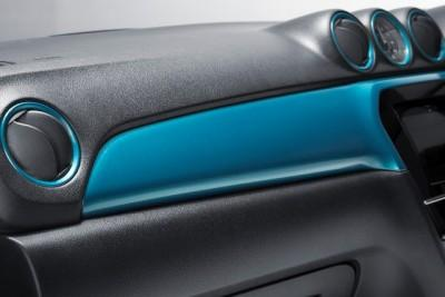 Suzuki Vitara Dashboard Coloured Trim Panel Set, Turquoise RHD 2015-2018