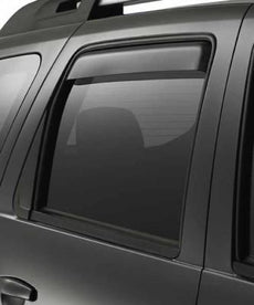 Dacia Duster Rear Door Air Deflectors 2012-