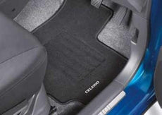 Suzuki Celerio Carpet Mat Set, Front & Rear RHD 2015-