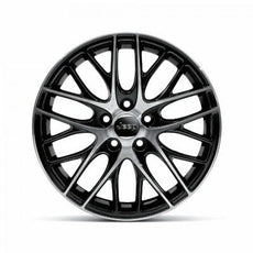 "Jeep Cherokee (KL) 17"" Alloy Wheel, Black/Polished"