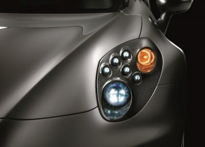 Alfa Romeo 4C Headlight Frames BI-LED, Carbon Fibre